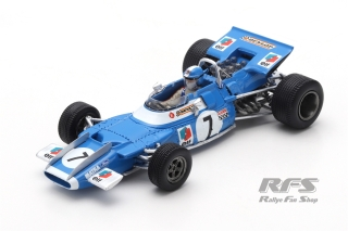 Matra MS80 Ford - Jean-Pierre Beltoise<br />Formula 1 French GP 1969  -  # 7<br />1:43 - Spark 7193