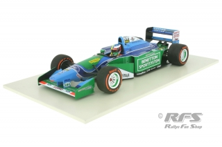 Benetton Ford B194 - Mick Schumacher<br />Demonstration Run Formula 1 Belgian GP 2017<br />1:18 - Minichamps 510941705