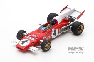 Ferrari 312 B2 - Jacky Ickx<br />Winner Formula 1 German GP 1972  -  # 4<br />1:43 - Looksmart  LS RC014