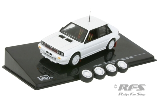 Lancia Delta HF Integrale 16V - 1989<br />Plain Body Rally Version<br />1:43 - IXO MDC S26