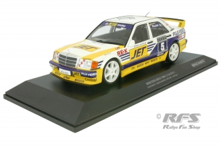 Mercedes-Benz 190E 2.5-16 Evo I - Manuel Reuter<br />DTM Season 1989 - MS-Jet Racing  # 5<br />1:18 - Minichamps 155893605