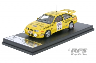 Ford Sierra RS Cosworth - RAC Rally 1987<br />Mark Lovell / Roger Freeman  -  # 20<br />1:43 - Trofeu RRuk37