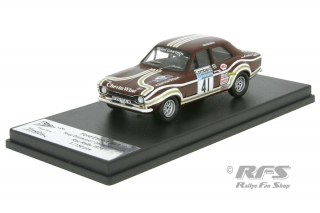 Ford Escort RS 1600 MK I - RAC Rally 1974<br />Tony Drumond / David Richards  -  # 41<br />1:43 - Trofeu RRuk36