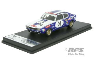 Ford Capri RS 2600 - Ronnie Peterson<br />GP Mantorp Park 1972  -  # 31<br />1:43 - Trofeu RRse05