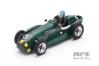 Connaught A Francis - Eric Thompson<br />Formula 1 British GP 1952  -  # 5<br />1:43 - Spark 7240