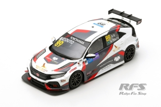 Honda Civic Type R TCR - Andre Couto<br />WTCR Macau Guia Race 2018  -  # 89<br />1:43 - Spark SA 184
