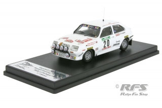 Vauxhall Chevette 2300 HSR - Rally Portugal 1984<br />Russell Gooding / Rodger Jenkins  -  # 20<br />1:43 - Trofeu RRal 093