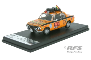 BMW 2002 Ti - Bendek / Hubner / Burgoa  # 29<br />Daily Mirror London-Mexico World Cup Rally 1970<br />1:43 - Trofeu RRmrs 01
