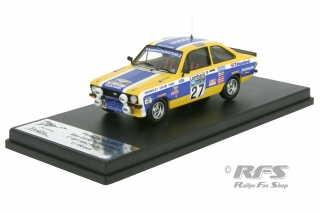 Ford Escort RS 2000 Mk II - RAC Rally 1979<br />Alan Carter / David West  -  # 27<br />1:43 - Trofeu RRuk40