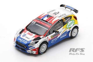 Ford Fiesta R5 - Rallye Monte Carlo 2019<br />Adrien Fourmaux / Renaud Jamoul  -  # 26<br />1:43 - Spark 5985