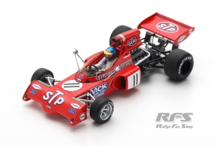 March 721X Ford - Ronnie Peterson<br />Formula 1 Belgian GP 1972  -  # 11<br />1:43 - Spark 7164