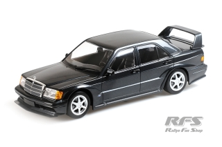 Mercedes-Benz 190E 2.5-16V EVO 2<br />1990 - Blue-Black Metallic<br />1:18 - Minichamps 155036100