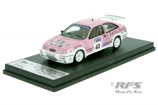 Ford Sierra RS Cosworth - RAC Rally 1988<br />Phil Collins / Bryan Thomas  -  # 43<br />1:43 - Trofeu RRuk41