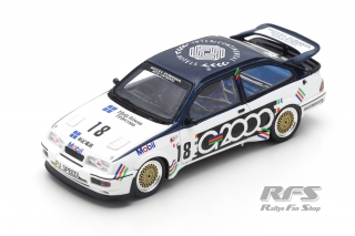 Ford Sierra RS 500 Cosworth - Andy Rouse<br />Macau Guia Race 1988  -  # 18<br />1:43 - Spark SA 190