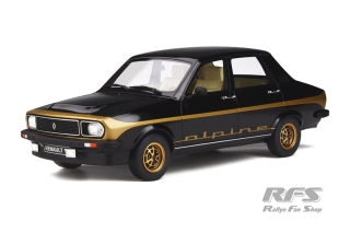 Renault R12 Alpine<br />1978 - black 694<br />1:18 - OttOmobile OT 336