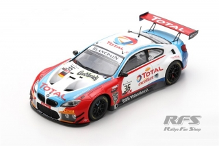 BMW M6 GT3 - 24h Spa 2019<br />Walkenhorst Motorsport  -  # 36<br />1:43 - Spark SB 280