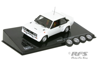 Fiat 131 Abarth - 1978<br />Plain Body Rally Version<br />1:43 - IXO MDC S28