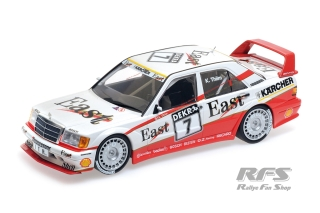 Mercedes-Benz 190E 2.5-16 Evo II - Kurt Thiim<br />DTM Season 1991 - East AMG Team  # 7<br />1:18 - Minichamps 155913607