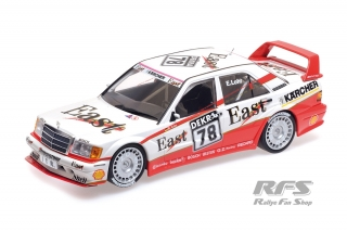 Mercedes-Benz 190E 2.5-16 Evo II - Ellen Lohr<br />DTM Season 1991 - East AMG Team  # 78<br />1:18 - Minichamps 155913678