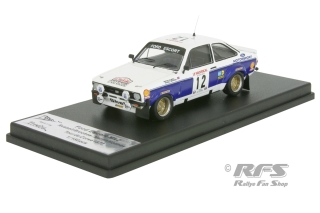 Ford Escort RS 1800 MkII - Tour de Corse 1977<br />Russell Brookes / Martin Holmes  -  # 12<br />1:43 - Trofeu RRfr17