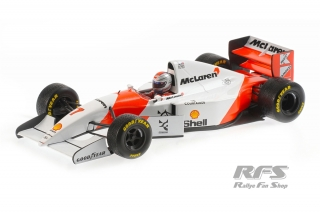 McLaren Ford MP4/8 - Michael Andretti<br />Formula 1 European GP 1993  -  # 7<br />1:18 - Minichamps 530931827
