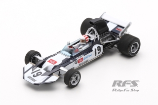 Surtees TS9 Ford - Sam Posey<br />Formula 1 US GP Watkins Glen 1971  -  # 19<br />1:43 - Spark 4016