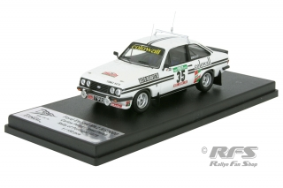 Ford Escort RS 2000 MKII - Rally Portugal 1978<br />Carlos Peres / Jose Peres  -  # 12<br />1:43 - Trofeu Rral 100