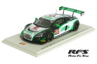 Audi R8 LMS ultra<br /># 22<br />24 Hours of Spa 2014 - 1:43