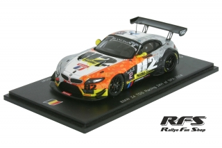 BMW Z4 GT3<br /># 12<br />24 Hours of Spa 2014 - 1:43
