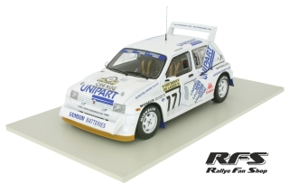 MG Metro 6R4 - UNIPART<br /># 17 Toivonen Harry<br />1000 Seen Rallye 1986 - 1:18