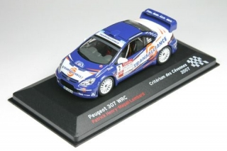 Peugeot 307 WRC<br />Patrick Henry / Magali Lombard